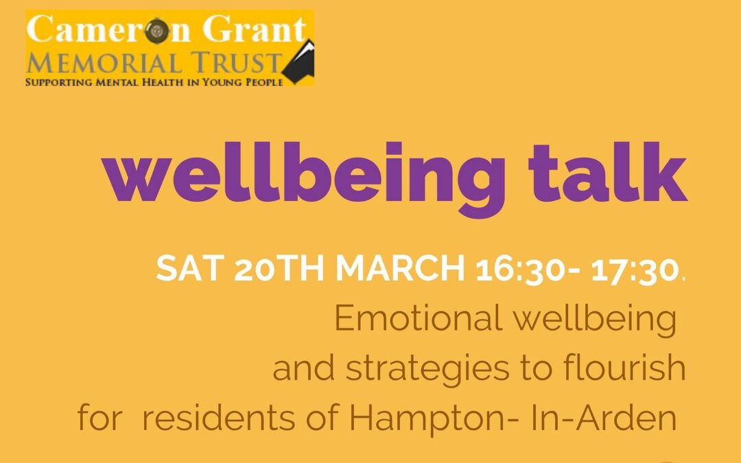 Free well-being talks